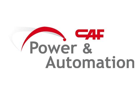 Logotipo CAF pOWER aU