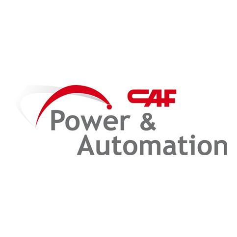 Logotipo CAF pOWER aU
