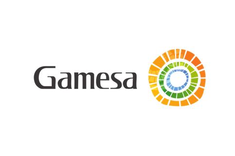 Logotipo de GAMESA