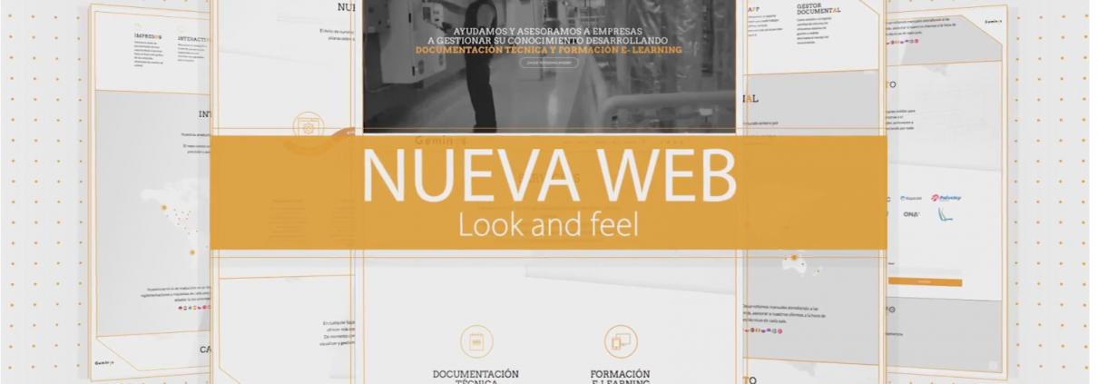 Foto de nuestra nueva pagina web
