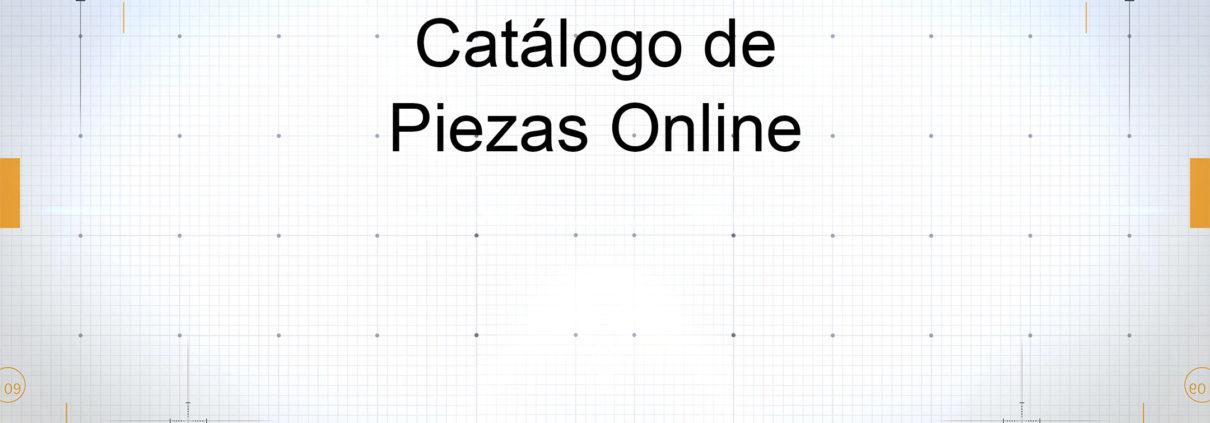 Catálogo de piezas Online